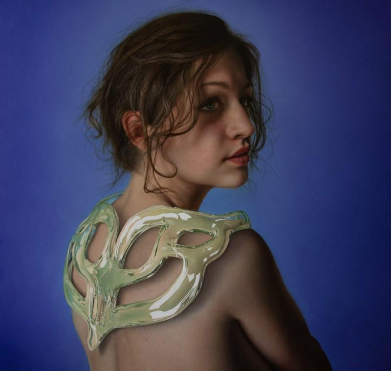 Итальянский художник рисует невероятные картины, которые не отличишь от фотографий.