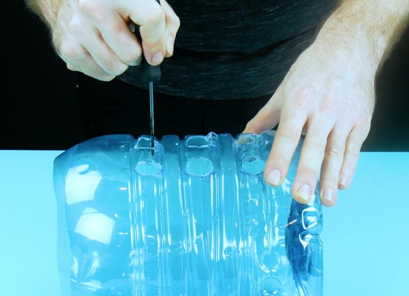 пластик режут