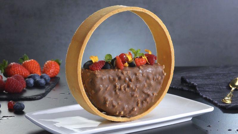 красивый десерт