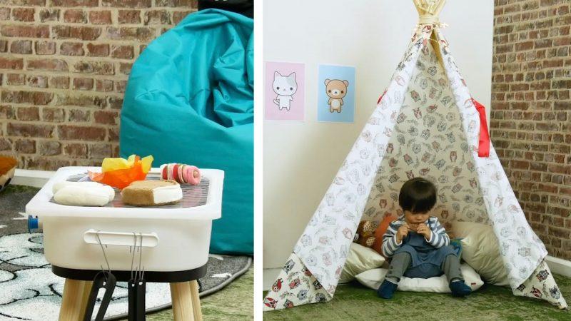 игрушки в детской комнате
