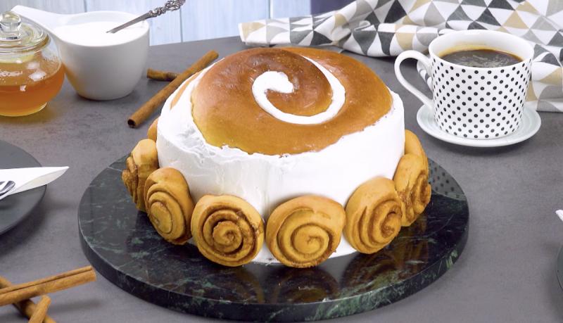 красивый кекс