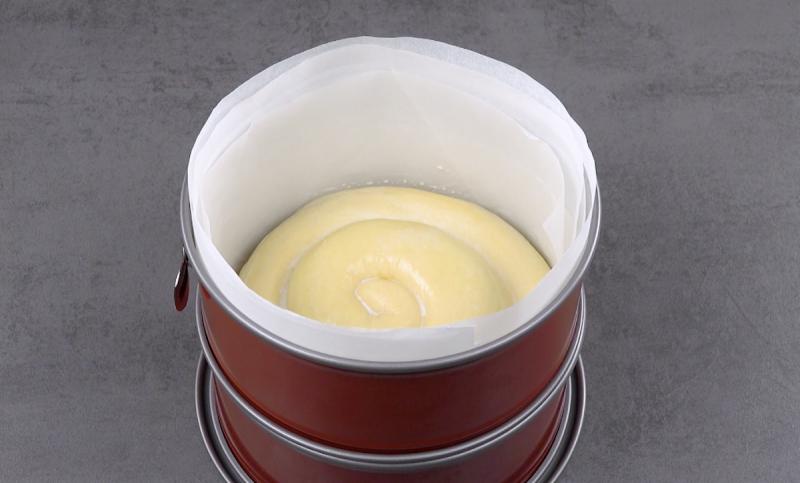 пирог в форме для выпечки