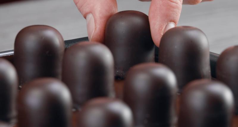 суфле в шоколаде