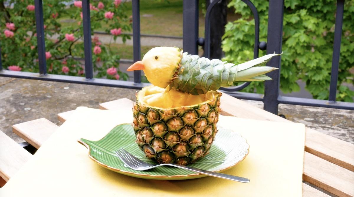 декор из ананаса
