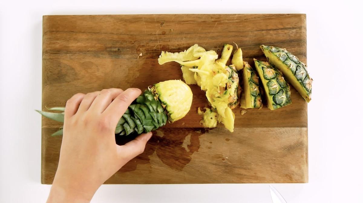 готовить из ананаса
