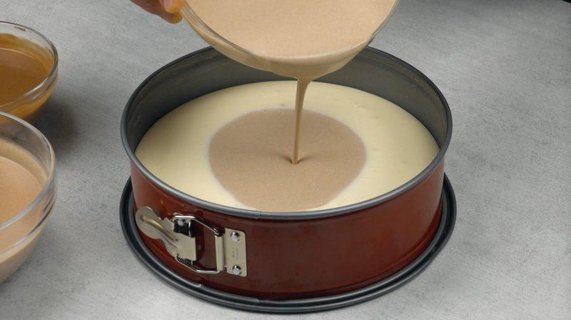 торт в форме для выпечки