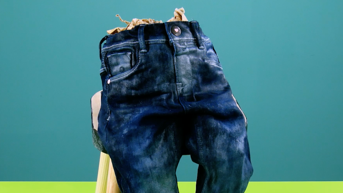 набитые джинсы