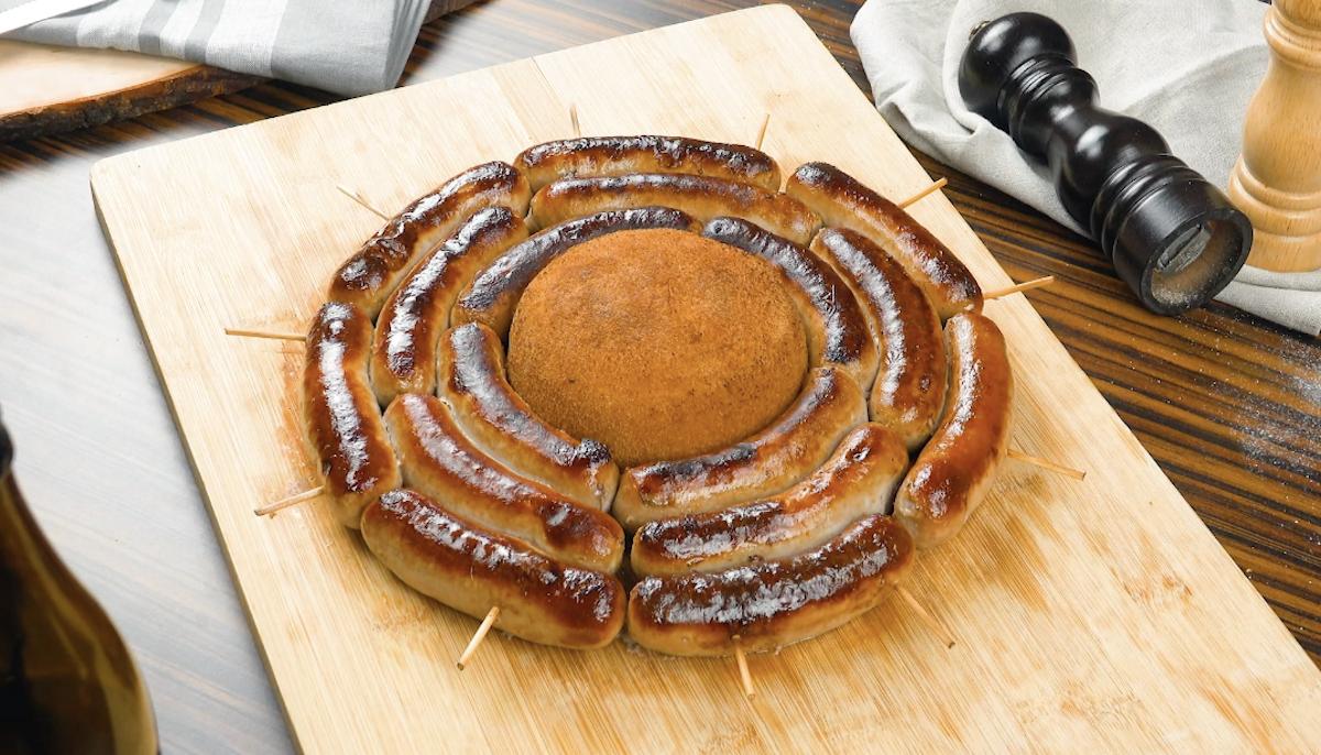 жареные колбаски