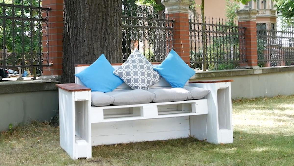 самодельный диван