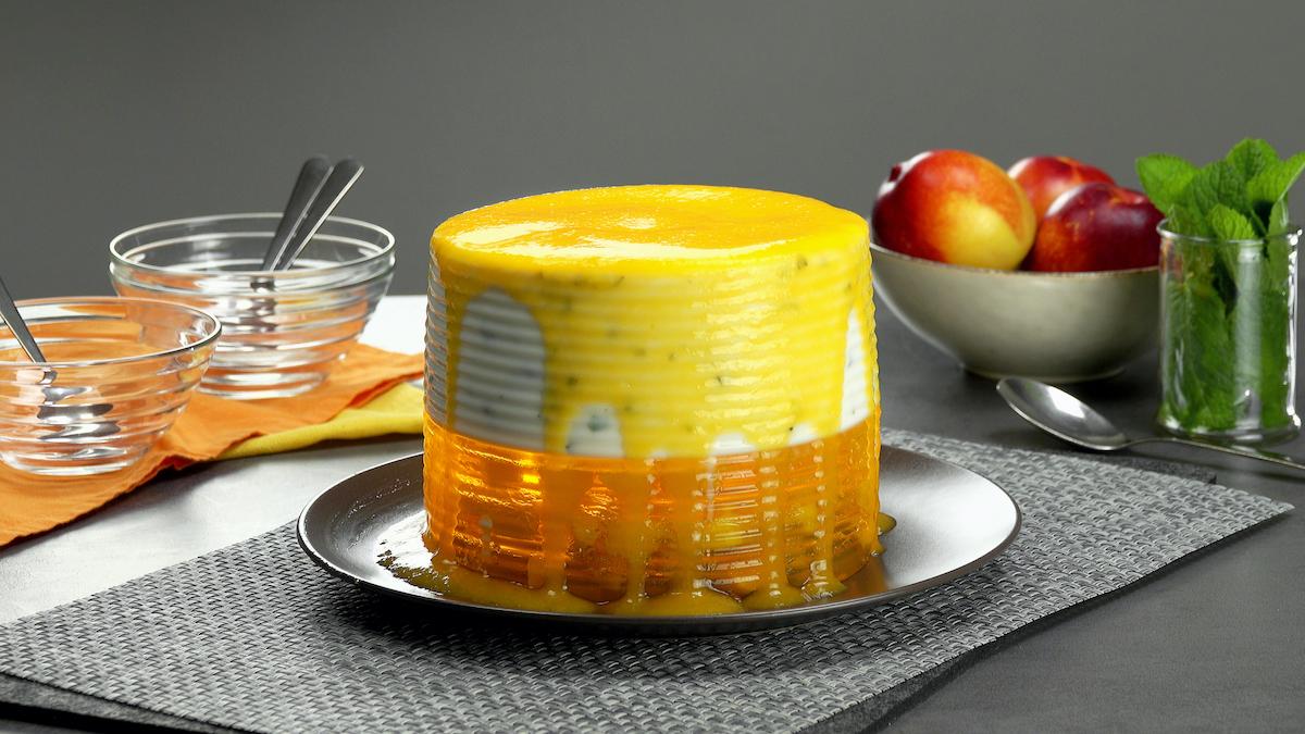 десерт с желе
