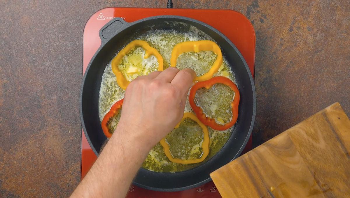 жарить перец