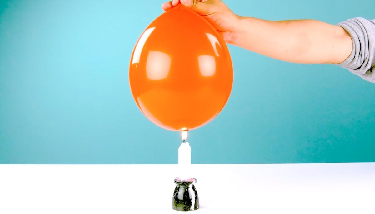 оранжевый шарик