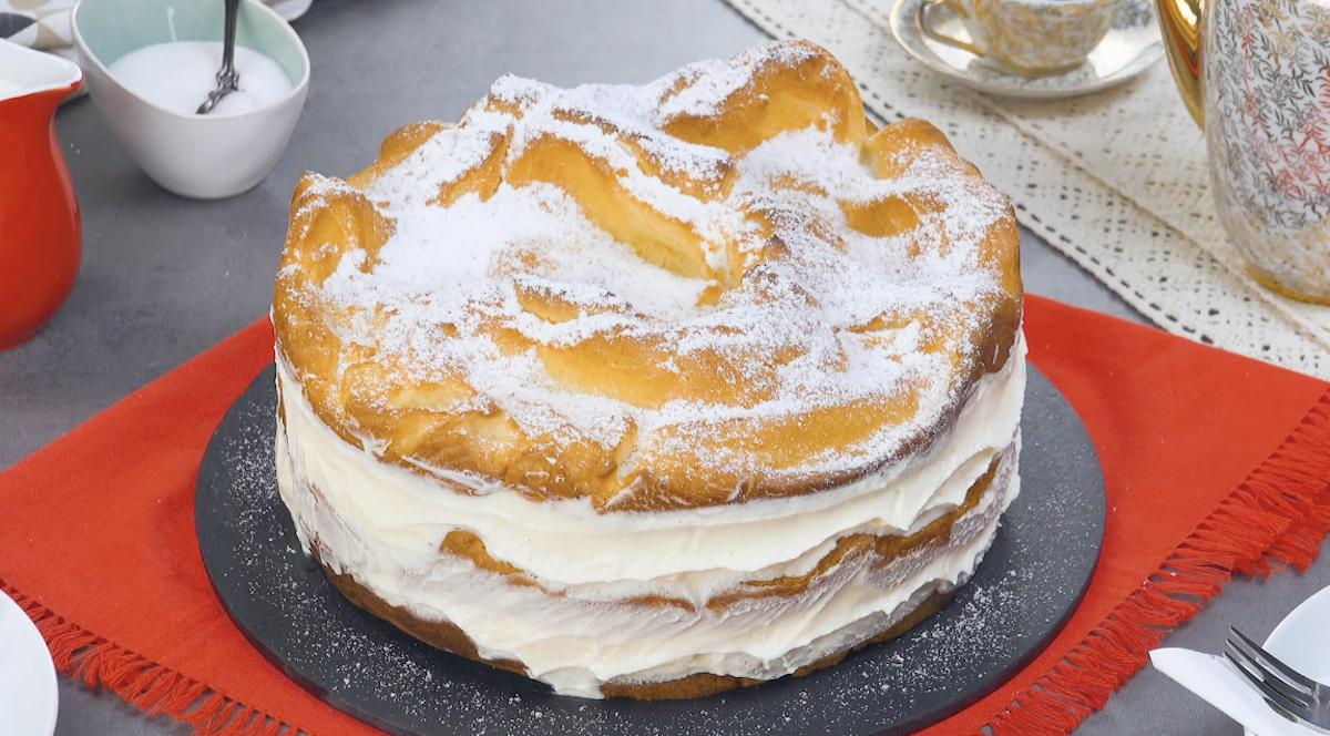 красивый торт с кремом