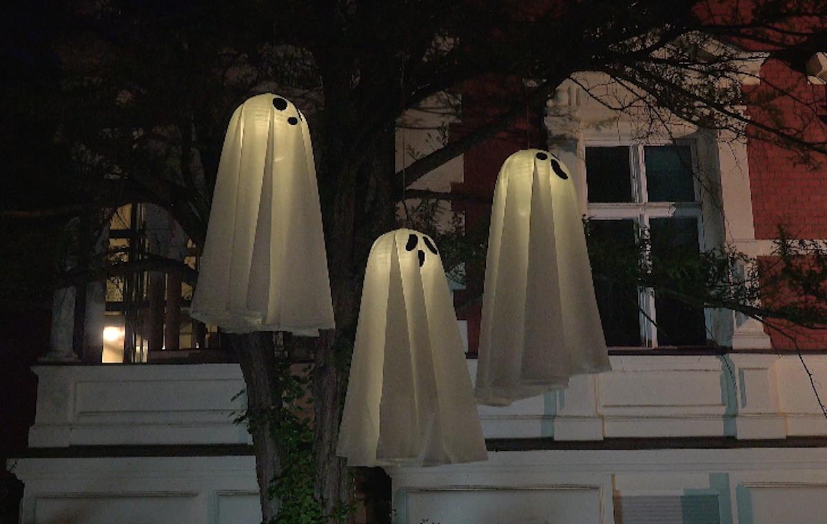 декор хэллоуин
