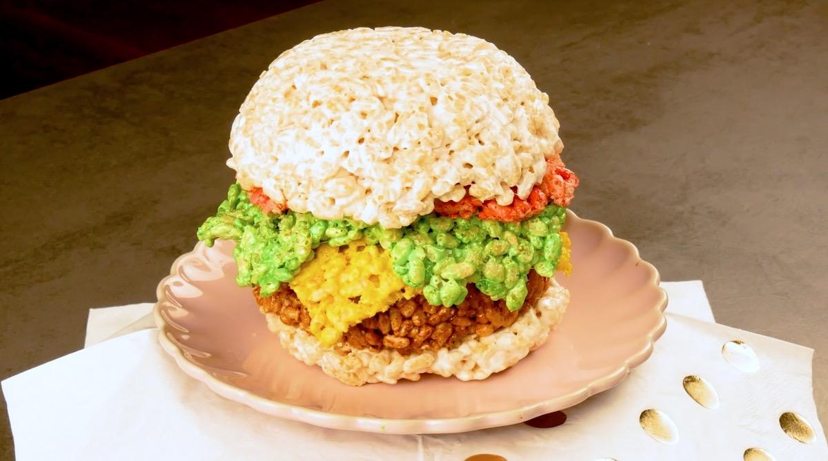 бургер из риса