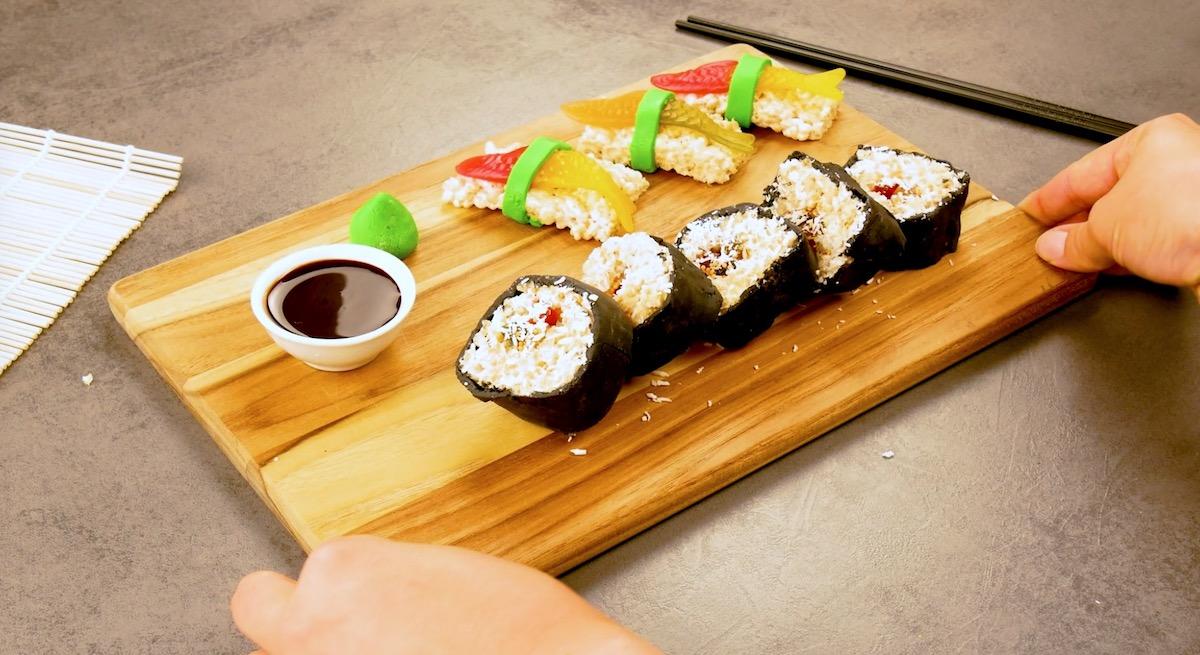 готовить суши