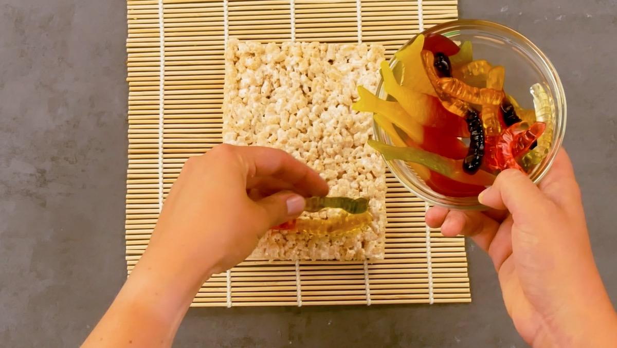 коврик для суши