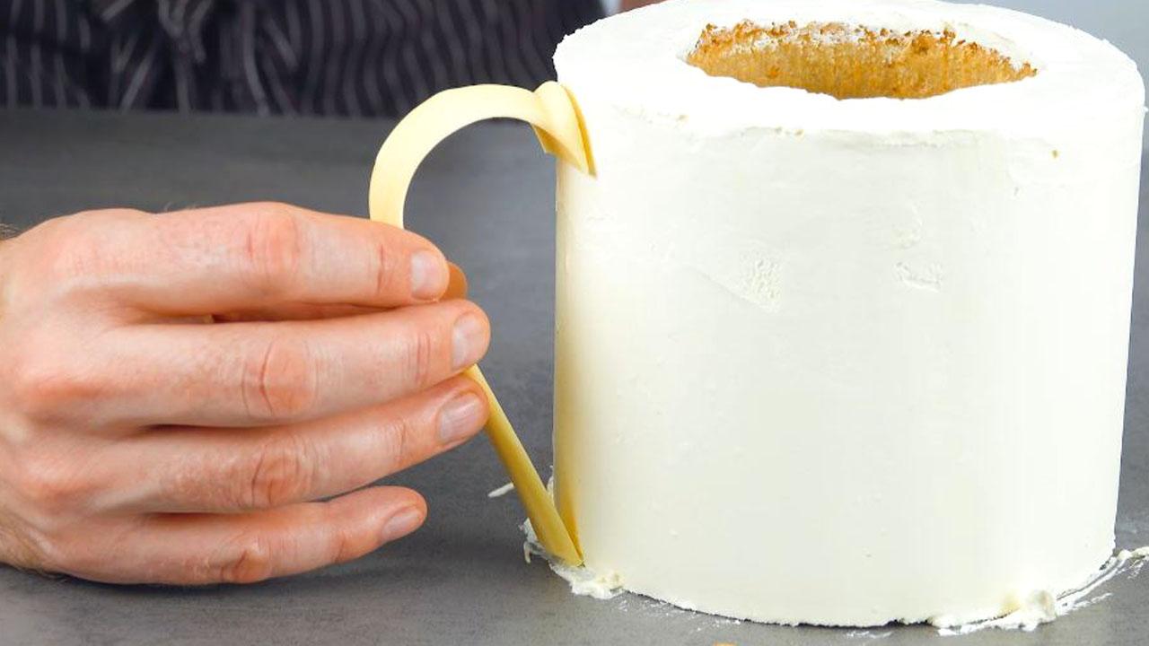 торт в виде кружки