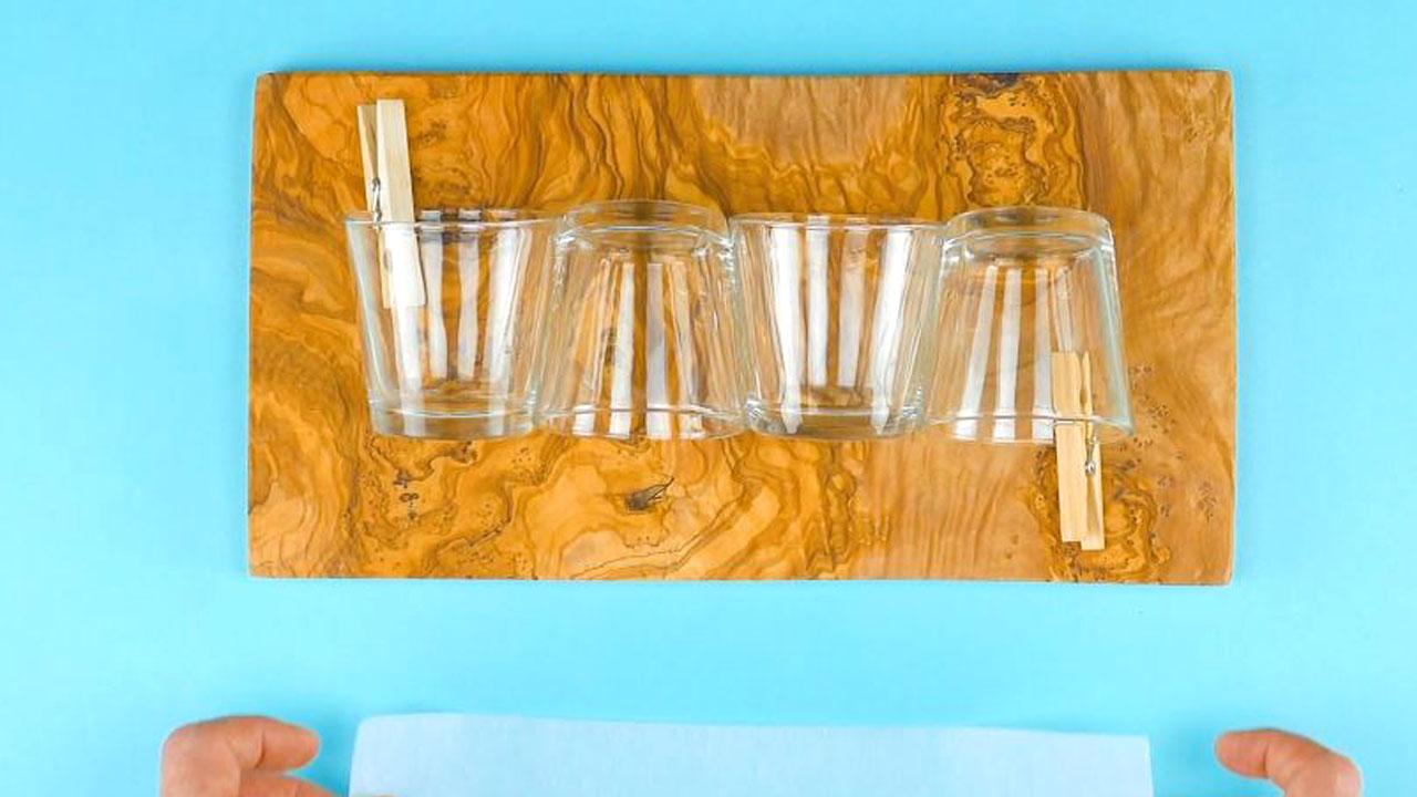 четыре стакана