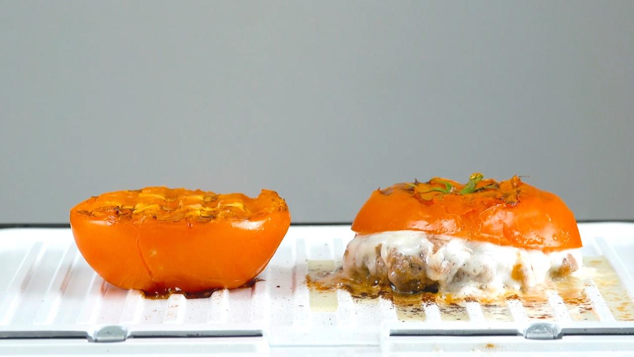 помидоры на гриле