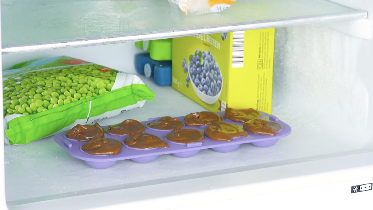 продукты в морозилке