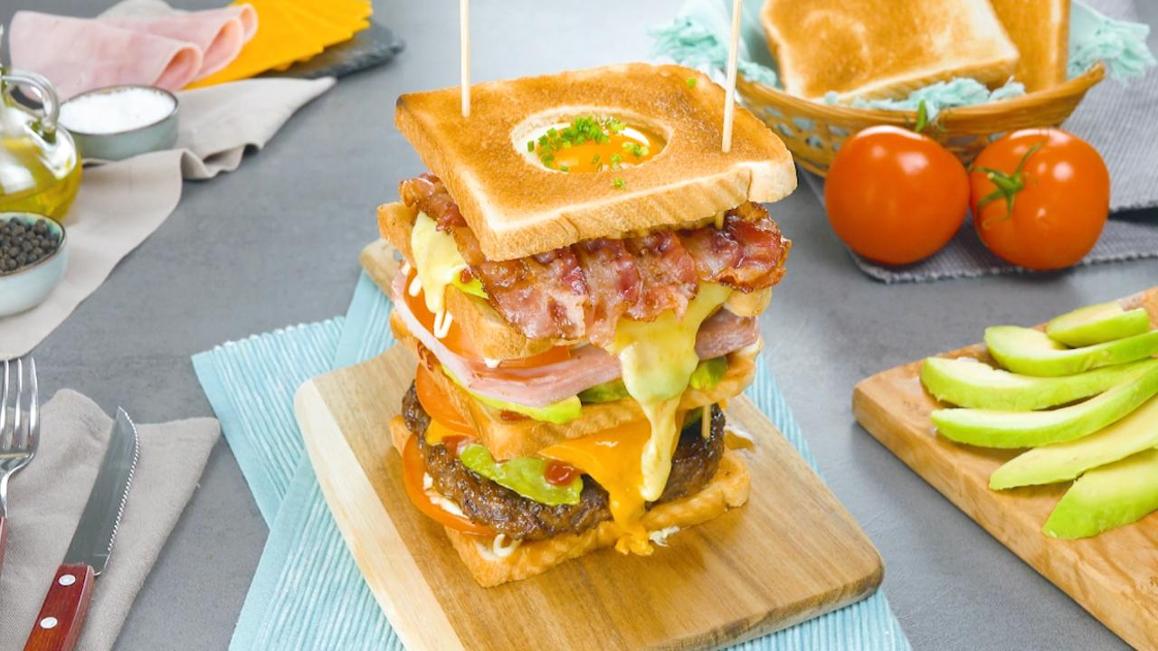 большой сэндвич