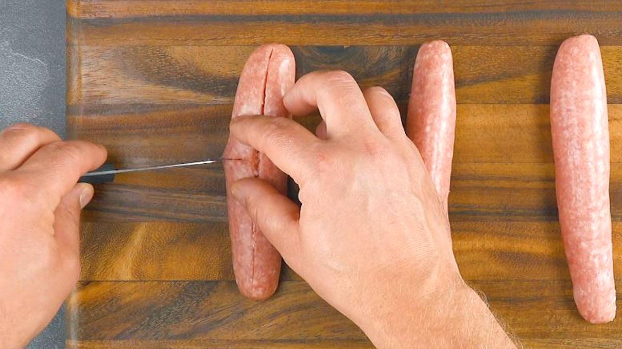 рука режет