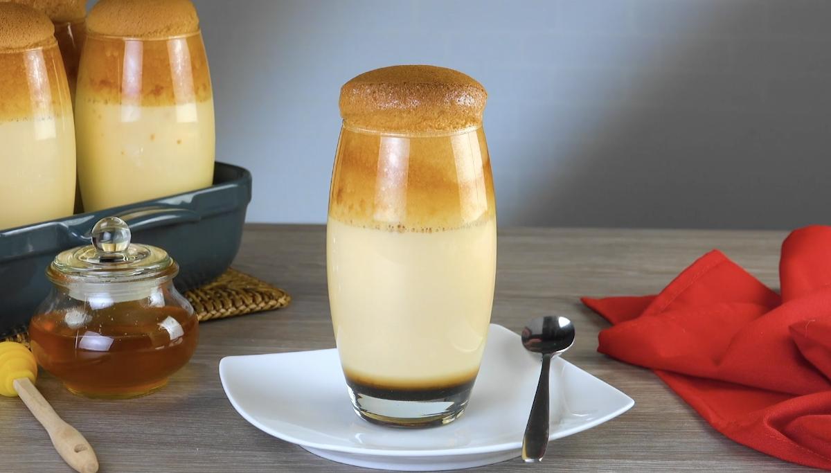 десерт в стакане