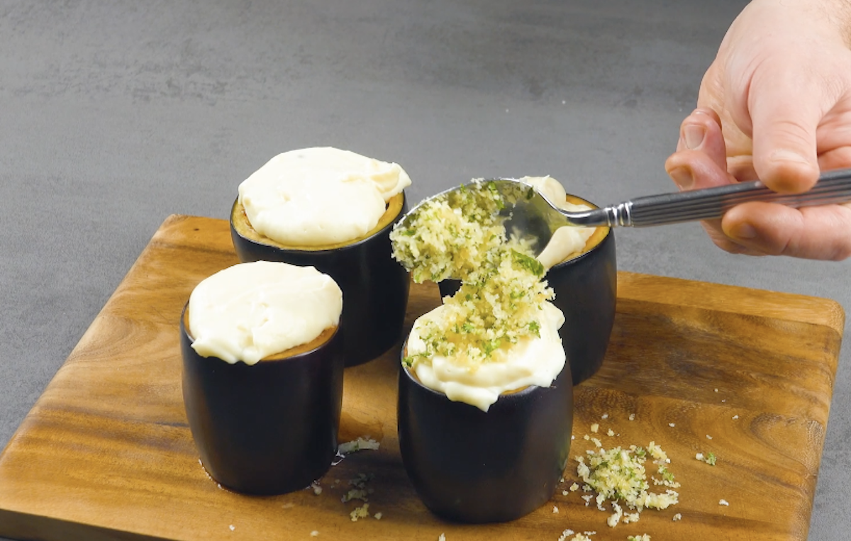 блюдо из баклажанов