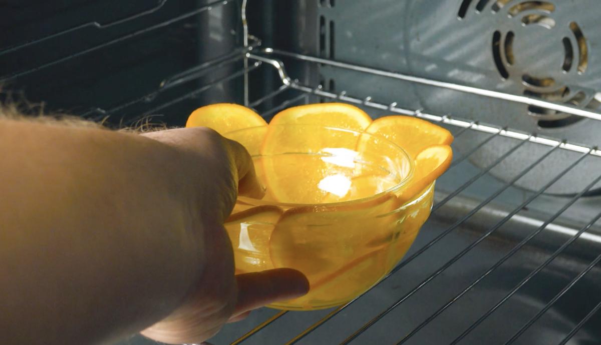 апельсин в духовке