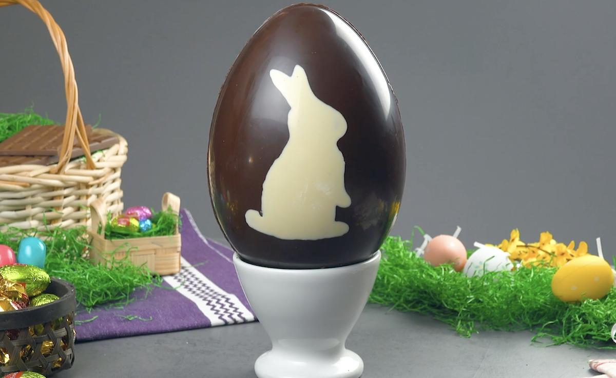 торт в виде яйца