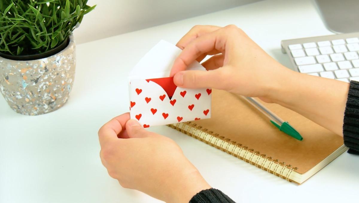 конверт с открыткой