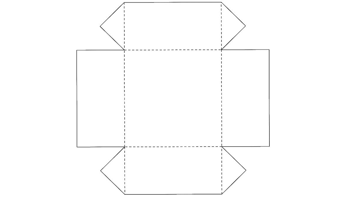шаблон на бумаге