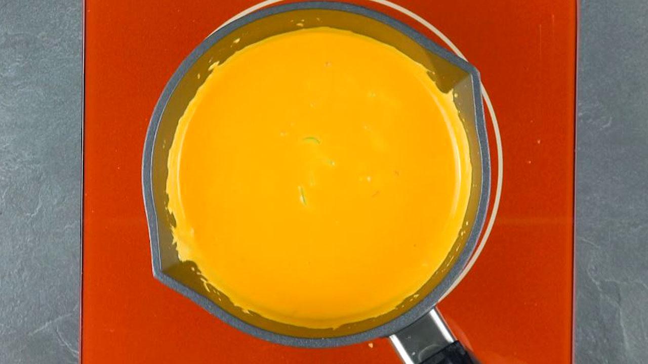 расплавленный сыр
