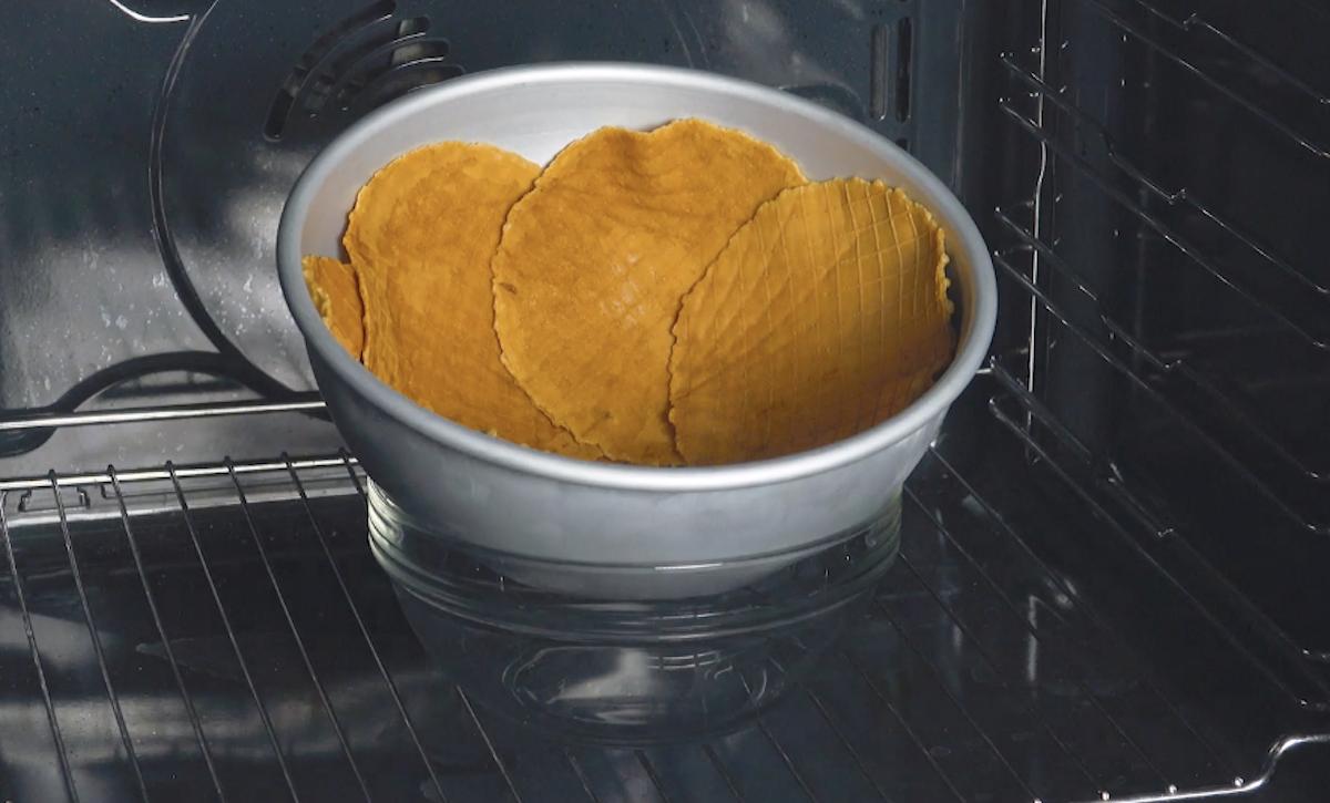 вафли в миске