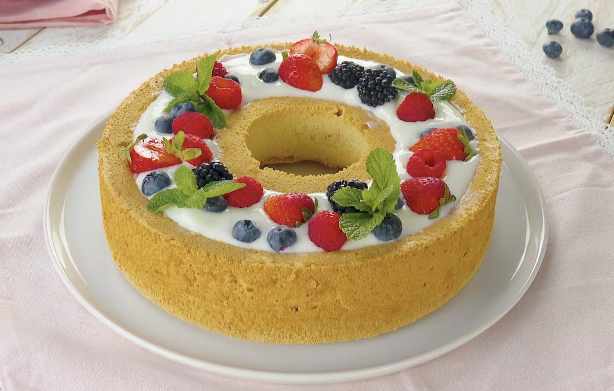 круглый торт