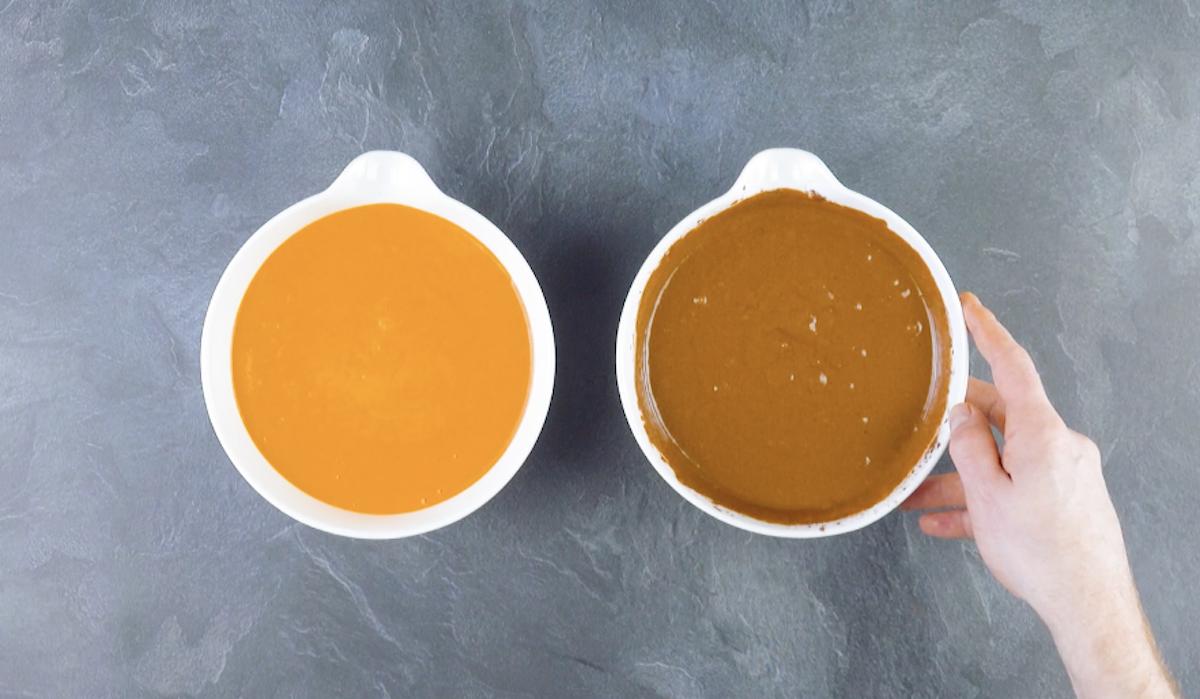 две порции теста