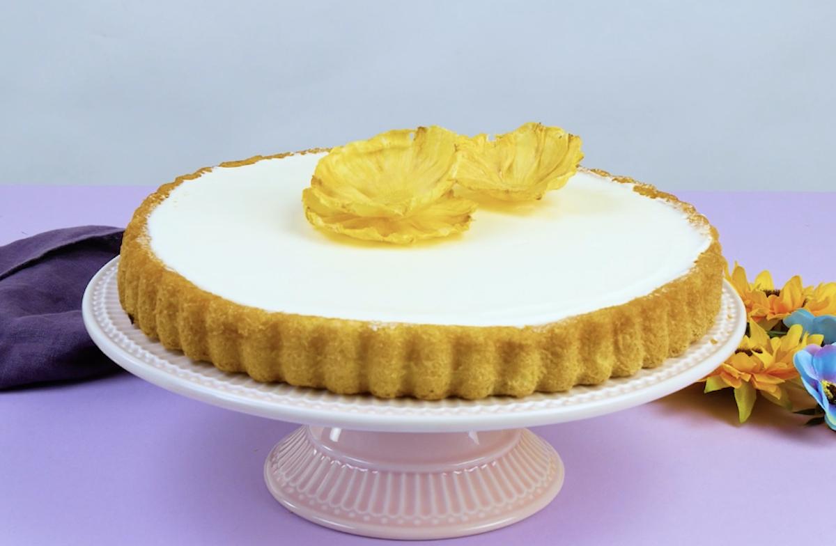 торт с ананасом