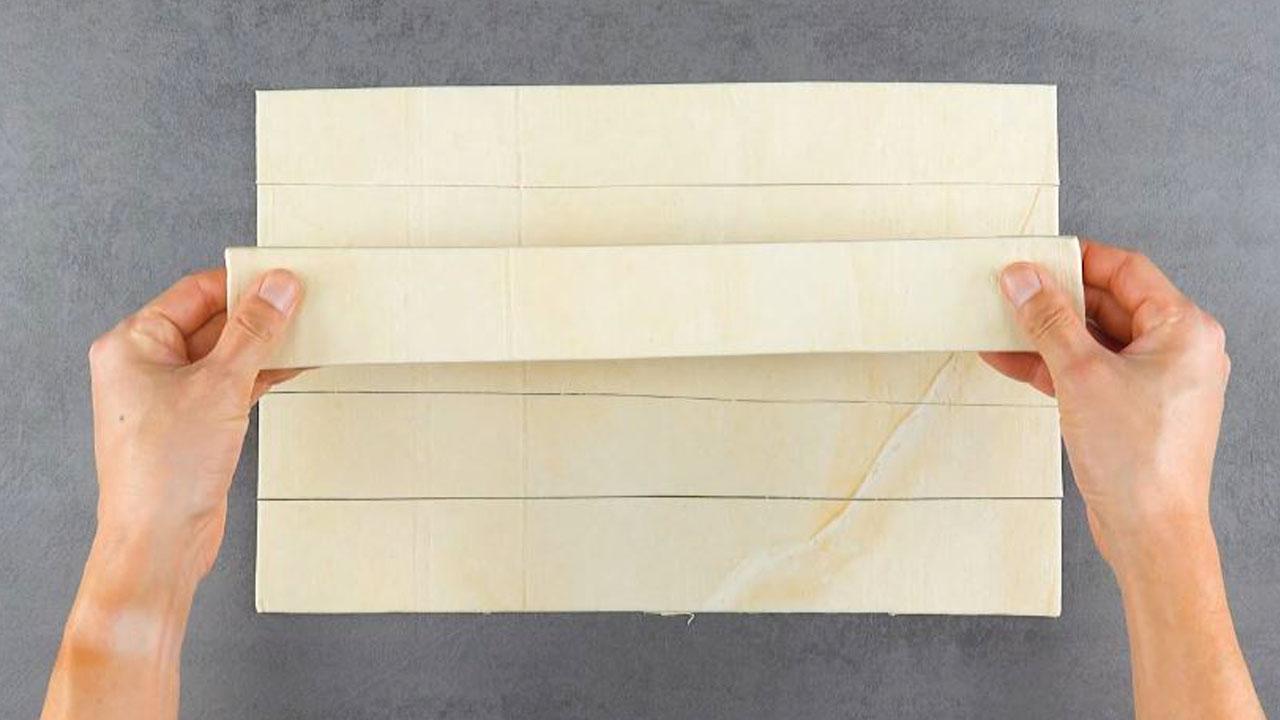 разрезанное тесто
