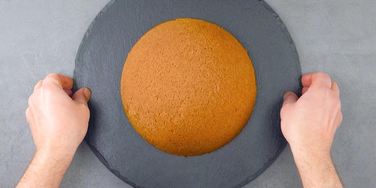 бисквит круглой формы