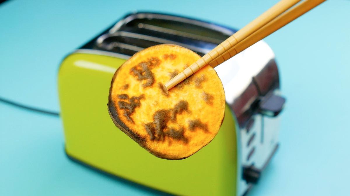 зеленый тостер