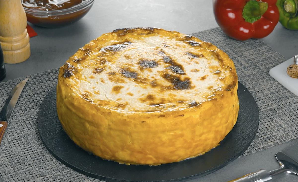 пирог из пюре